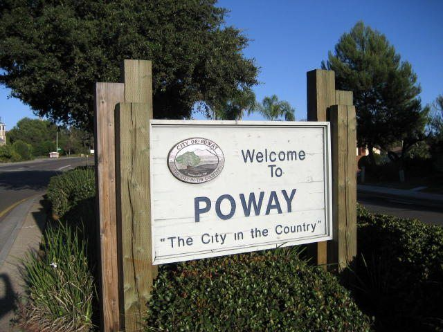 Poway Real Estate sign